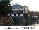 japan kokura castle | Shutterstock . vector #738435343