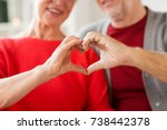 relationships  love and old... | Shutterstock . vector #738442378