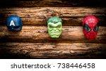 Small photo of Samara, Russia - June 16,2017 ;Hulk, Spiderman, Capitan America masks Hulk is a popular character for Marvel.Spiderman is a popular character for Marvel.Capitan America is a popular character for Marvel.