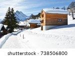 braunwald  switzerland | Shutterstock . vector #738506800