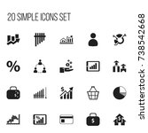 set of 20 editable logical...