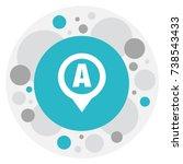 vector illustration of location ...