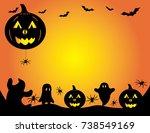 Halloween Pumpkin Graphic...