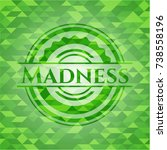 madness realistic green mosaic... | Shutterstock .eps vector #738558196