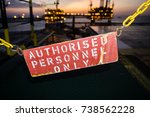 "signage with word ""authorised... 