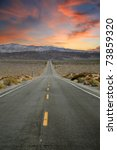highway to heaven. the road to... | Shutterstock . vector #73859320