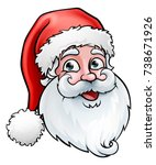 Santa Claus Cartoon Character ...
