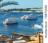 beach on red sea  sharm el... | Shutterstock . vector #73871050