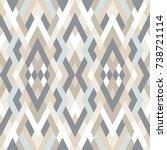 mosaic seamless pattern. vector ...   Shutterstock .eps vector #738721114