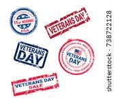 set of grunge rubber stamps... | Shutterstock .eps vector #738722128