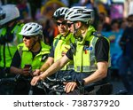 dublin  ireland   30 september... | Shutterstock . vector #738737920
