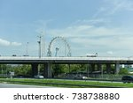 view on thailand road | Shutterstock . vector #738738880