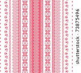 embroidery seamless pattern.... | Shutterstock .eps vector #73875496