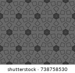 abstract repeat backdrop.... | Shutterstock . vector #738758530