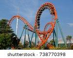 bangkok thailand   october 21... | Shutterstock . vector #738770398