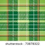 Seamless Checkered Green Vecto...