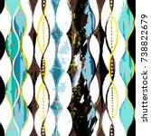 abstract pattern background ...   Shutterstock .eps vector #738822679