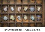 metamorphic rock geology...   Shutterstock . vector #738835756