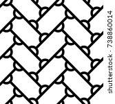 grid image. herringbone pattern.... | Shutterstock .eps vector #738860014
