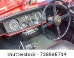 the regent street motor show ...   Shutterstock . vector #738868714