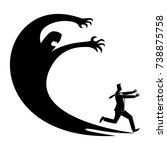 business concept illustration... | Shutterstock .eps vector #738875758