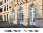 palais erzherzog albrecht  eng. ... | Shutterstock . vector #738901600