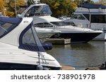 mississauga  canada october 8th ... | Shutterstock . vector #738901978