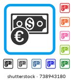 currency cash icon. flat gray...