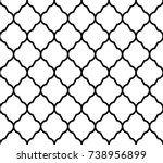 geometric design seamless... | Shutterstock .eps vector #738956899