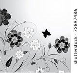 floral design   Shutterstock .eps vector #73897486