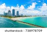 south beach  miami beach.... | Shutterstock . vector #738978709