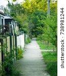 a typical australian... | Shutterstock . vector #738981244