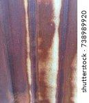 Small photo of Zinc corrode, rust