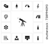 set of 13 editable science...
