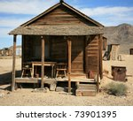 An Old Gold Miners Shack In A...