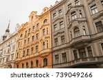 Traditional Facade Of Buildings ...