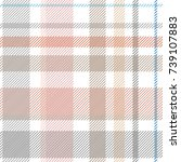 light checkered print. seamless ... | Shutterstock .eps vector #739107883