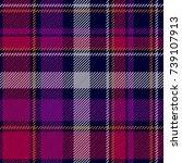 trendy checkered print.... | Shutterstock .eps vector #739107913