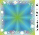 square frame or border... | Shutterstock .eps vector #739116190