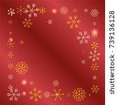 square frame or border... | Shutterstock .eps vector #739136128