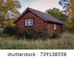 old wooden house | Shutterstock . vector #739138558
