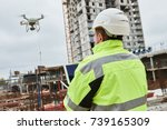 Drone Operated By Construction...