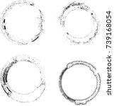 vector frames. circle for image.... | Shutterstock .eps vector #739168054