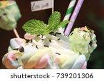 smoothies | Shutterstock . vector #739201306