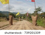 bridge wood in district pi... | Shutterstock . vector #739201339