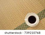 japanese tatami matting and...   Shutterstock . vector #739210768