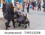 zagreb  croatia   december 4 ... | Shutterstock . vector #739213258