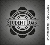 Student Loan Black Emblem....
