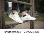 milan  italy   october 4  2017  ... | Shutterstock . vector #739278238