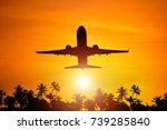 airplane flight to paradise...